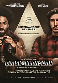 "Movie poster for ""BLACKKKLANSMAN"""