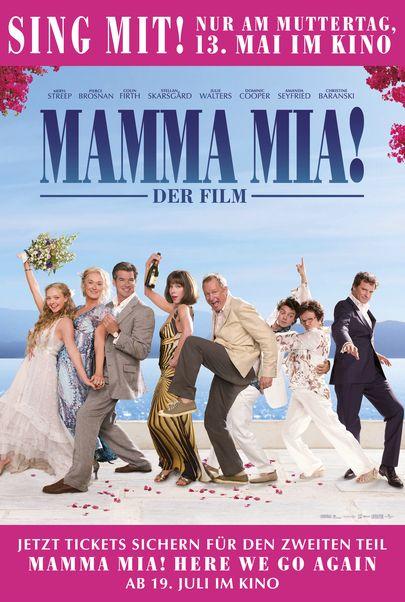 """Filmplakat für """"Mamma Mia! Der Film - Sing mit!"""""""