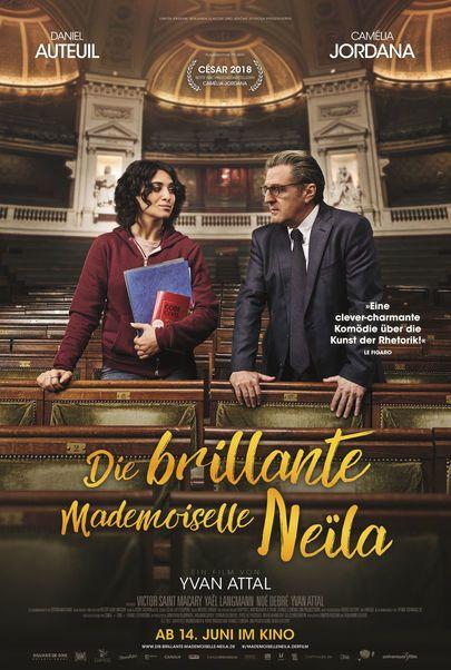 """Filmplakat für """"Die brillante Mademoiselle Neila"""""""