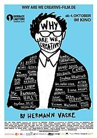 "Movie poster for ""Why Are We Creative?"""