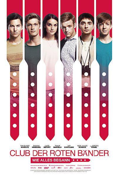 """Filmplakat für """"Der Club der roten Bänder - Wie alles begann"""""""