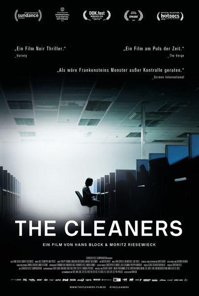 "Filmplakat für ""The Cleaners"""