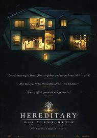 "Movie poster for ""HEREDITARY"""