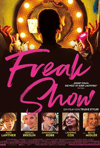 """Filmplakat für """"FREAK SHOW"""""""