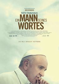 "Movie poster for ""Pope Francis: A Man of his Word"""