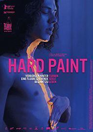 """Filmplakat für """"Hard Paint"""""""