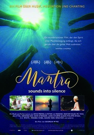 "Movie poster for ""MANTRA - SOUNDS INTO SILENCE"""