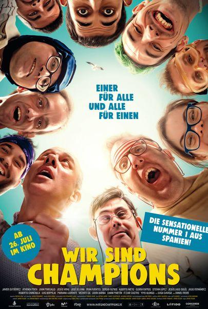 """Filmplakat für """"Wir sind Champions"""""""