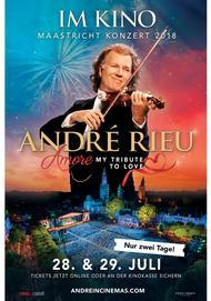 "Movie poster for ""André Rieu: Amore - My Tribute to Love. Das Maastricht-Konzert 2018"""