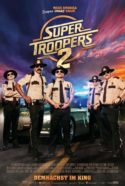 "Filmplakat für ""Super Troopers 2"""