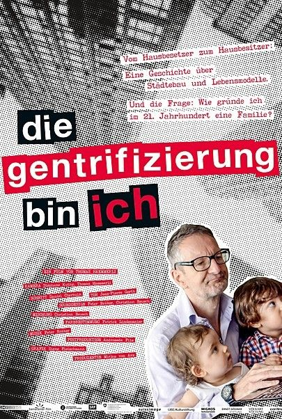 """Filmplakat für """"Die Gentrifizierung bin ich"""""""