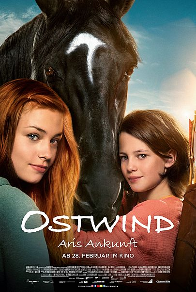 """Movie poster for """"Ostwind 4 - Aris Ankunft"""""""