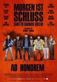 """Filmplakat für """"Morgen ist Schluss - Ad Honorem"""""""