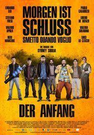 """Filmplakat für """"Morgen ist Schluss - Der Anfang"""""""