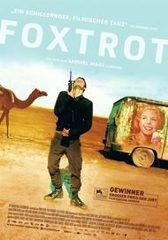 "Movie poster for ""FOXTROT"""