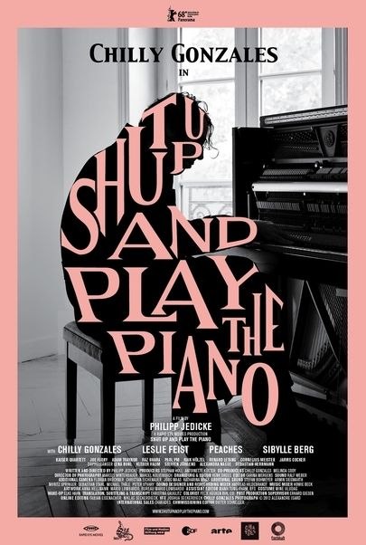 "Filmplakat für ""SHUT UP AND PLAY THE PIANO"""