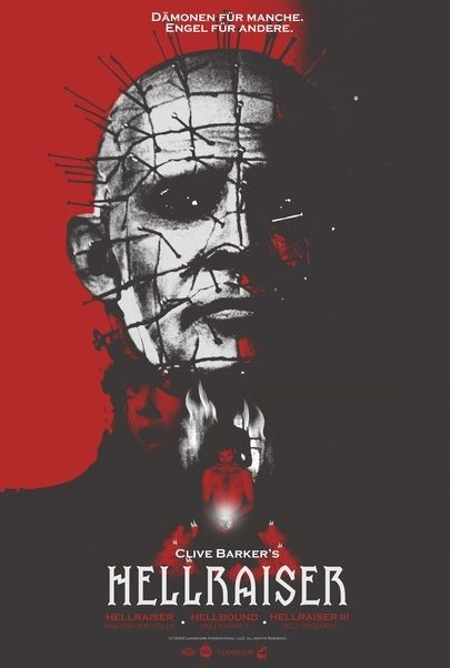 "Filmplakat für ""Hellraiser III: Hell on Earth"""