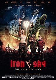 "Movie poster for ""Iron Sky: The Coming Race"""