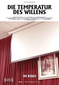 """Filmplakat für """"Die Temperatur des Willens"""""""