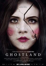 "Movie poster for ""GHOSTLAND"""