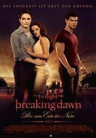 """Movie poster for """"Breaking Dawn - Biss zum Ende der Nacht"""""""