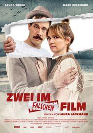 """Filmplakat für """"Zwei im falschen Film"""""""