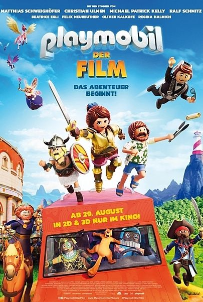 "Filmplakat für ""Playmobil - Der Film (2D & 3D)"""