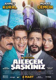 """Filmplakat für """"Ailecek Saskiniz"""""""