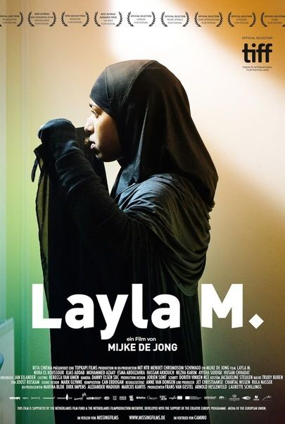 """Movie poster for """"Layla M."""""""
