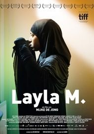 "Movie poster for ""Layla M."""