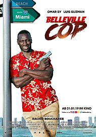 """Filmplakat für """"Belleville Cop"""""""