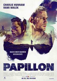 "Filmplakat für ""PAPILLON"""