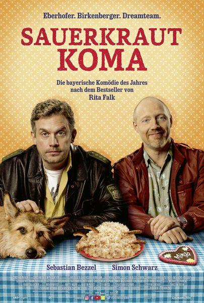 """Filmplakat für """"Sauerkrautkoma"""""""
