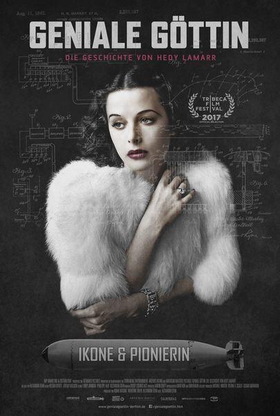 """Filmplakat für """"Geniale Göttin: Die Geschichte von Hedy Lamarr"""""""