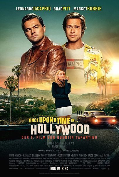 "Filmplakat für ""ONCE UPON A TIME... IN HOLLYWOOD"""