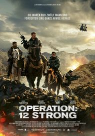 "Filmplakat für ""Operation: 12 Strong"""