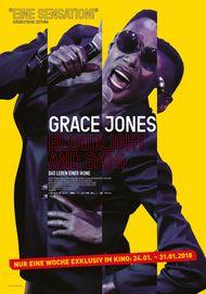"""Filmplakat für """"Grace Jones: Bloodlight and Bami - Das Leben einer Ikone"""""""