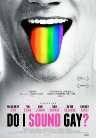 "Movie poster for ""DO I SOUND GAY?"""