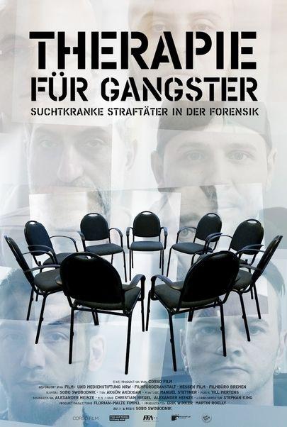 """Movie poster for """"Therapie für Gangster"""""""
