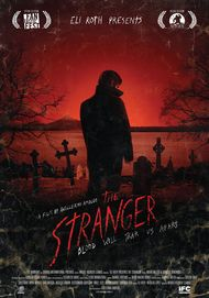 "Movie poster for ""ELI ROTH PRESENTS THE STRANGER"""