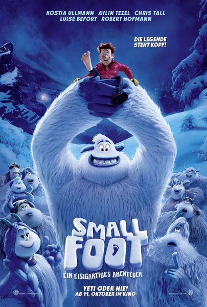 """Filmplakat für """"Smallfoot - Ein eisartiges Abenteuer"""""""