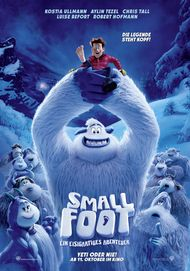"Movie poster for ""Smallfoot"""