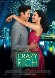 "Movie poster for ""CRAZY RICH ASIANS"""