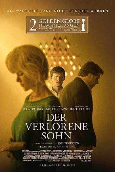 """Filmplakat für """"Der verlorene Sohn"""""""