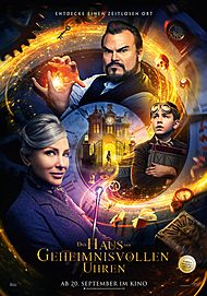 "Movie poster for ""THE HOUSE WITH A CLOCK IN ITS WALLS"""