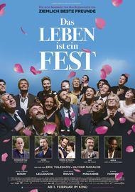 """Filmplakat für """"Das Leben ist ein Fest"""""""