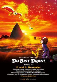 """Filmplakat für """"Pokémon - Der Film: Du bist dran!"""""""
