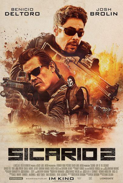 """Filmplakat für """"Sicario 2"""""""