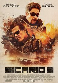 "Movie poster for ""Sicario: Day of the Soldado"""