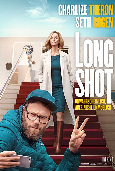 "Movie poster for ""LONG SHOT"""